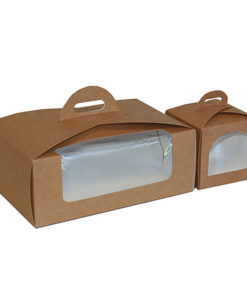 Cupcake boxes brown