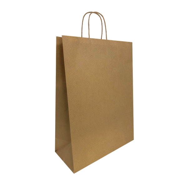 Brown Kraft Paper Carriers Bags