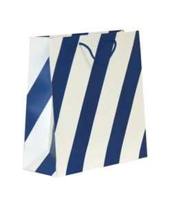 Navy Stripe Bags