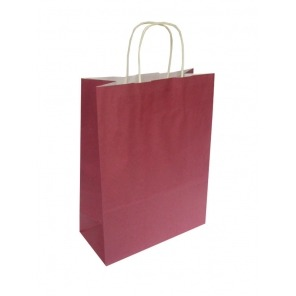 Burgundy Twist Handle Carriers