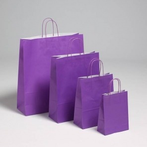 Purple Twist Handle Carriers
