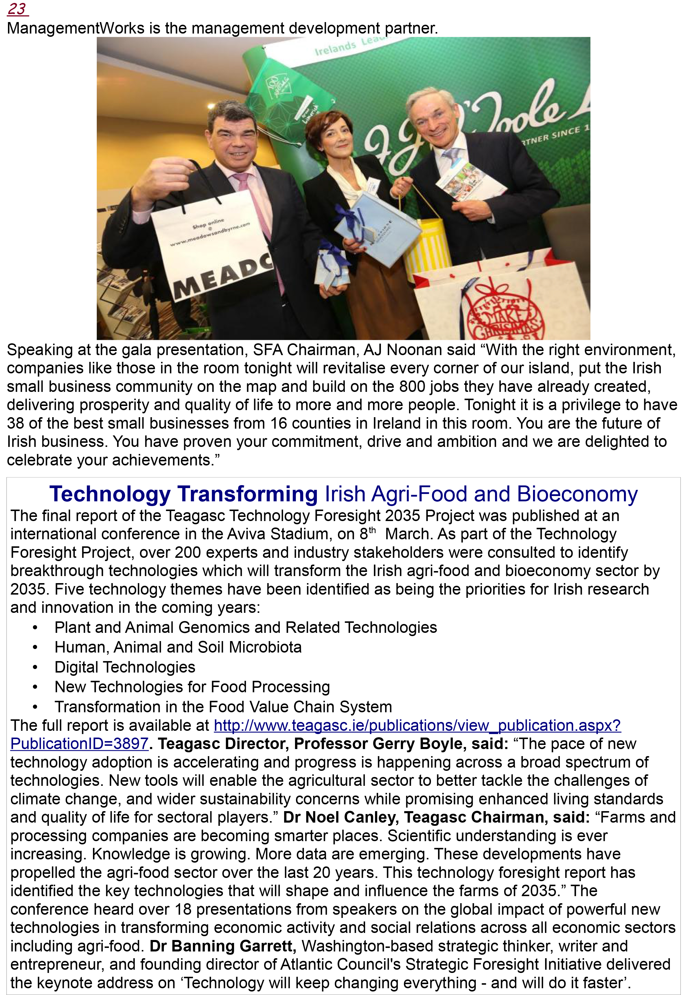 Dairy & Food Industries Magazine April 2016 Issue-23