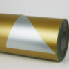 Gold Silver gift wrap