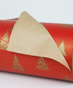 Red Christmas Gift Wrap