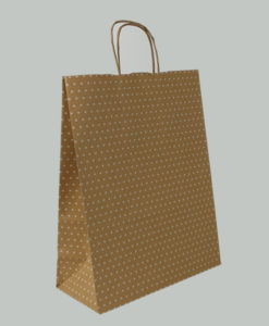 Brown Kraft Dotty
