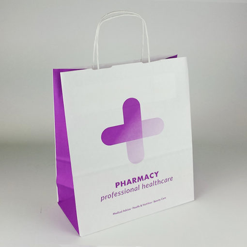 Purple Pharmacy Range Carrier Bags